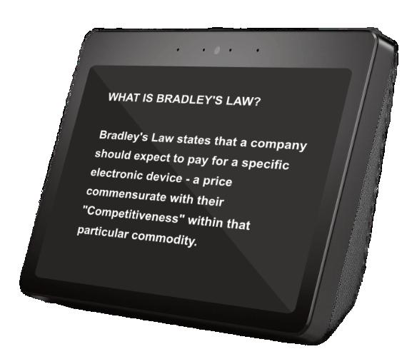 Price Prediction using Bradley's Law