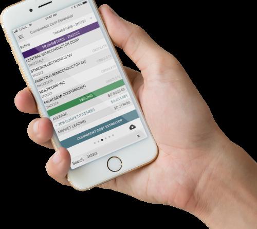 Component Cost Estimator App